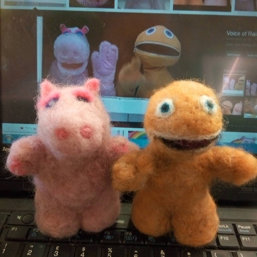 """Fantastic, I was looking for these for over 35 years, thank you for making them for me!"" Luke  #rainbow  #zippy #rainbowgeorge #collectables  #cartoon"