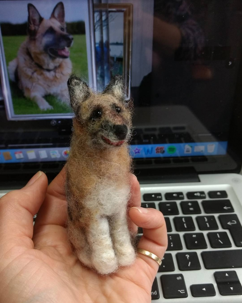 """""""Thank you for making a mini Luna for Pauline during her hospital stay. It was such a comfort to her!"""" Viv"""